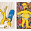 Thumbnail: 5023 - Quadro Duplo Para Guardar Tampinhas e Rolhas - Simpsons
