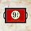 Thumbnail: 10041 - Bandeja Decorativa - Harry Potter 9 3/4