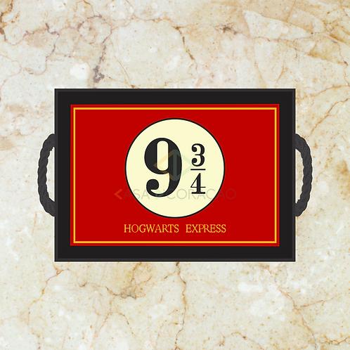 10041 - Bandeja Decorativa - Harry Potter 9 3/4