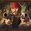 Thumbnail: 10045 - Bandeja Decorativa - Piratas do Caribe - Jack Sparrow