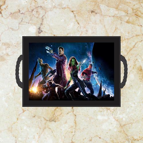 10047 - Bandeja Decorativa - Guardiões da Galáxia