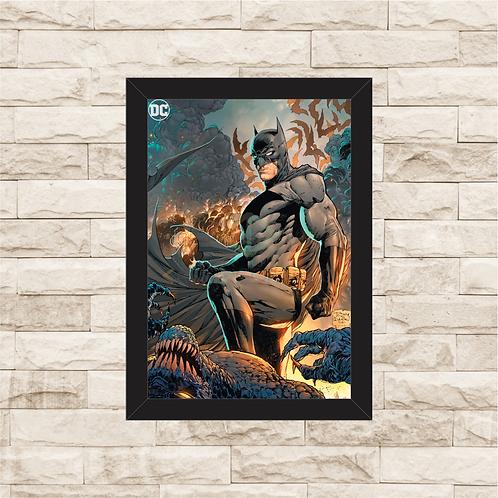 1767 - Quadro com moldura Batman