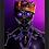 Thumbnail: 1181 - Quadro com moldura Pantera Negra