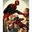 Thumbnail: 1293 - Quadro com moldura Homem Aranha e Demolidor