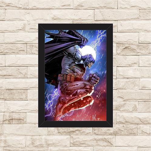 1741 - Quadro com moldura Batman