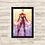 Thumbnail: 1154 - Quadro com moldura Capitã Marvel