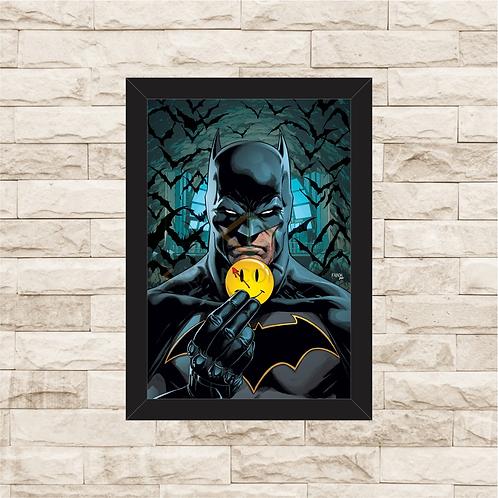 1048 - Quadro com moldura Batman - Watchmen