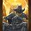 Thumbnail: 1182 - Quadro com moldura Pantera Negra