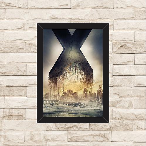 1392 - Quadro com moldura X-Men - Dias de um Futuro Esquecido