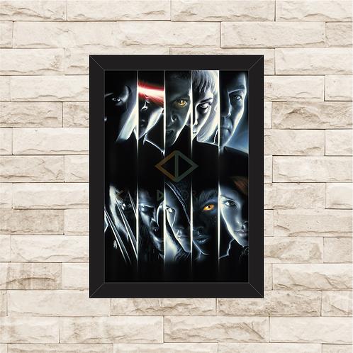 1381 - Quadro com moldura X-Men 1