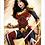 Thumbnail: 1152 - Quadro com moldura Mulher Maravilha