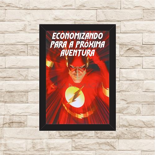 104 - Quadro para guardar dinheiro - Para a Próxima Aventura - Flash