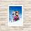 Thumbnail: 4150 - Quadro com moldura Frozen - Anna e Olaf