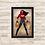 Thumbnail: 1211 - Quadro com moldura Mulher Maravilha
