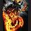 Thumbnail: 1360 - Quadro com moldura Motoqueiro Fantasma
