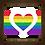 Thumbnail: 6286 - Quadro com moldura LOVE