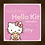 Thumbnail: 4074 - Quadro com moldura Hello Kitty
