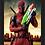 Thumbnail: 1354 - Quadro com moldura Deadpool