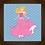 Thumbnail: 4099 - Quadro com moldura Princesas - Aurora - Bela Adormecida