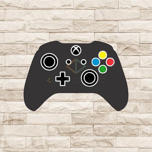 30012 - Placa Decorativa - Controle Xbox