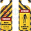 Thumbnail: 20081 - Aviso de porta Área de Infecção Zumbi