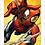 Thumbnail: 1109 - Quadro com moldura Homem Aranha