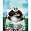 Thumbnail: 1678 - Quadro com moldura Kung Fu Panda 3