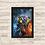 Thumbnail: 1163 - Quadro com moldura Vingadores - Punho de Thanos
