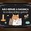 Thumbnail: 8020 - Quadro com moldura Não Repare a Bagunça - Gatos
