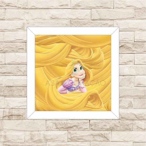 4104 - Quadro com moldura - Rapunzel