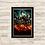 Thumbnail: 1517 - Quadro com moldura Mercenários 2