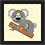 Thumbnail: 4049 E - Quadro com moldura Coala