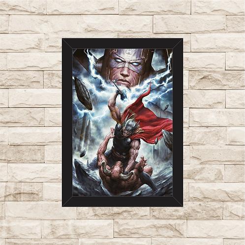 1079 - Quadro com moldura Thor