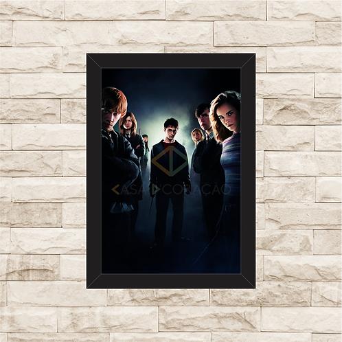 1427 - Quadro com moldura Harry Potter