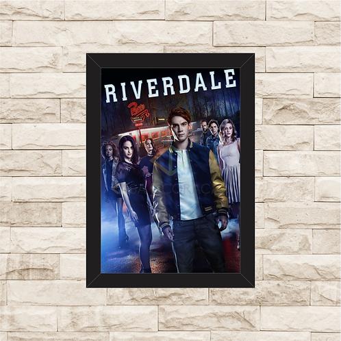 1240 - Quadro com moldura Riverdale