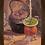 Thumbnail: 6220 - Quadro com moldura Chaleira e Cuia