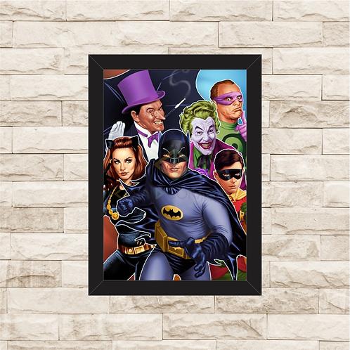 1169 - Quadro com moldura Batman