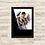 Thumbnail: 1500 - Quadro com moldura Cliffhanger - À Beira do Abismo