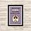 Thumbnail: 6109 - Quadro com moldura Frida Kahlo
