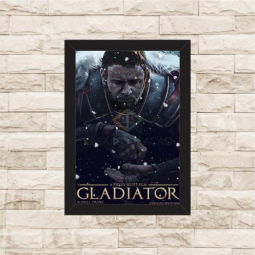 1762 - Quadro com moldura Gladiador