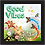 Thumbnail: 6252 - Quadro com moldura Good Vibes