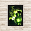 Thumbnail: 1073 - Quadro com moldura Lanterna Verde