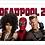 Thumbnail: 1198 - Quadro com moldura Deadpool 2