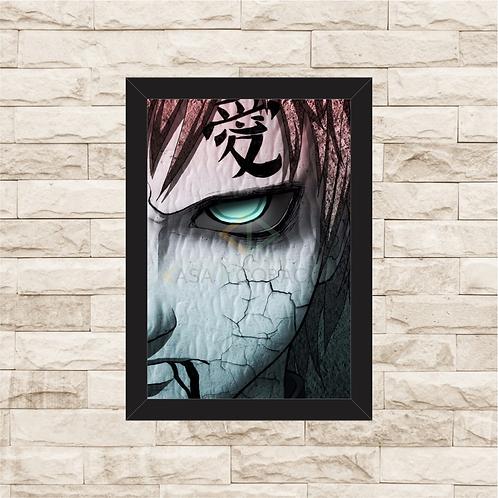 1282 - Quadro com moldura Naruto