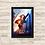 Thumbnail: 1464 - Quadro com moldura Supergirl