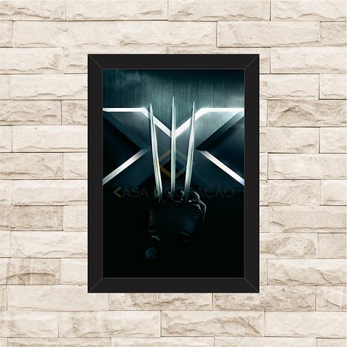 1383 - Quadro com moldura X-Men 3