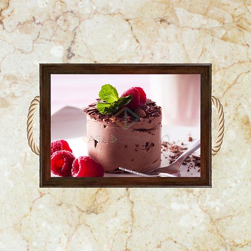 10033 - Bandeja Decorativa - Sobremesa