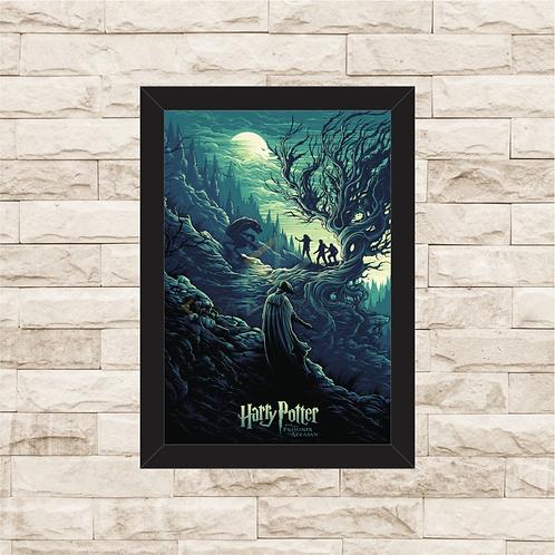 1214 - Quadro com moldura Harry Potter e o Prisioneiro de Azkaban