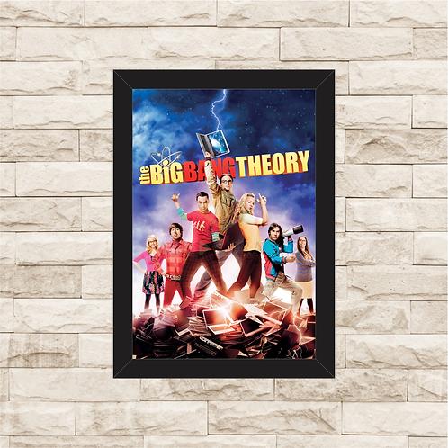 1450 - Quadro com moldura The Big Bang Teory