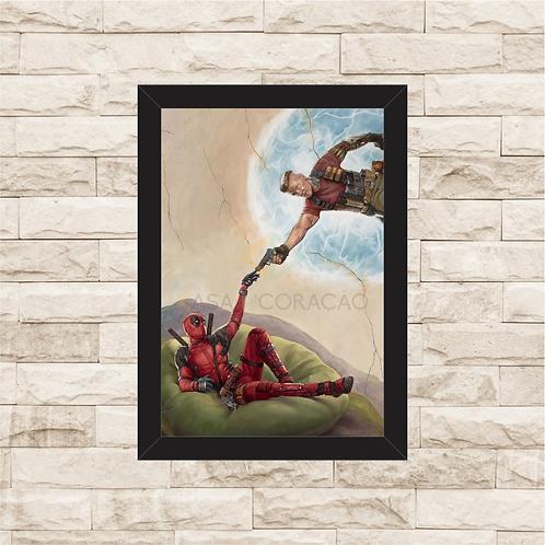 1170 - Quadro Decorativo Deadpool